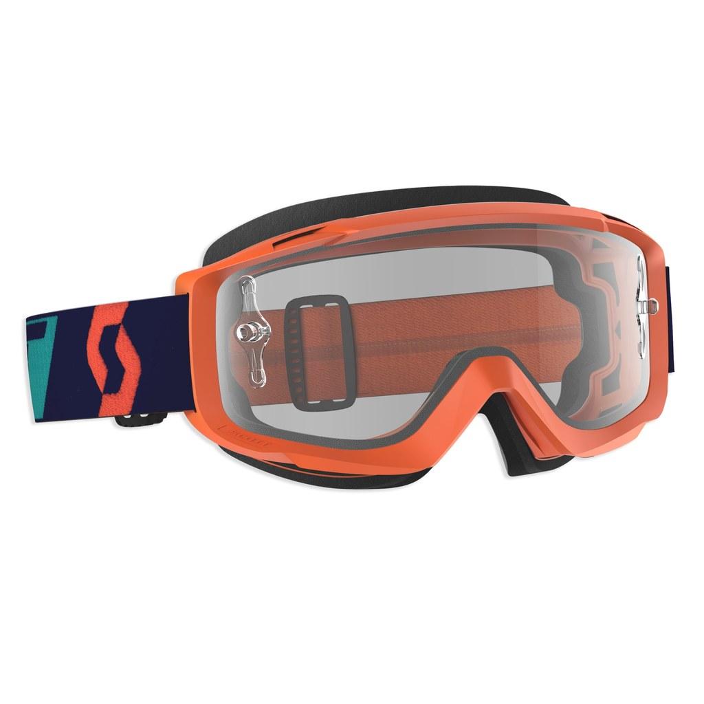 Goggle Split OTG orange clear lens