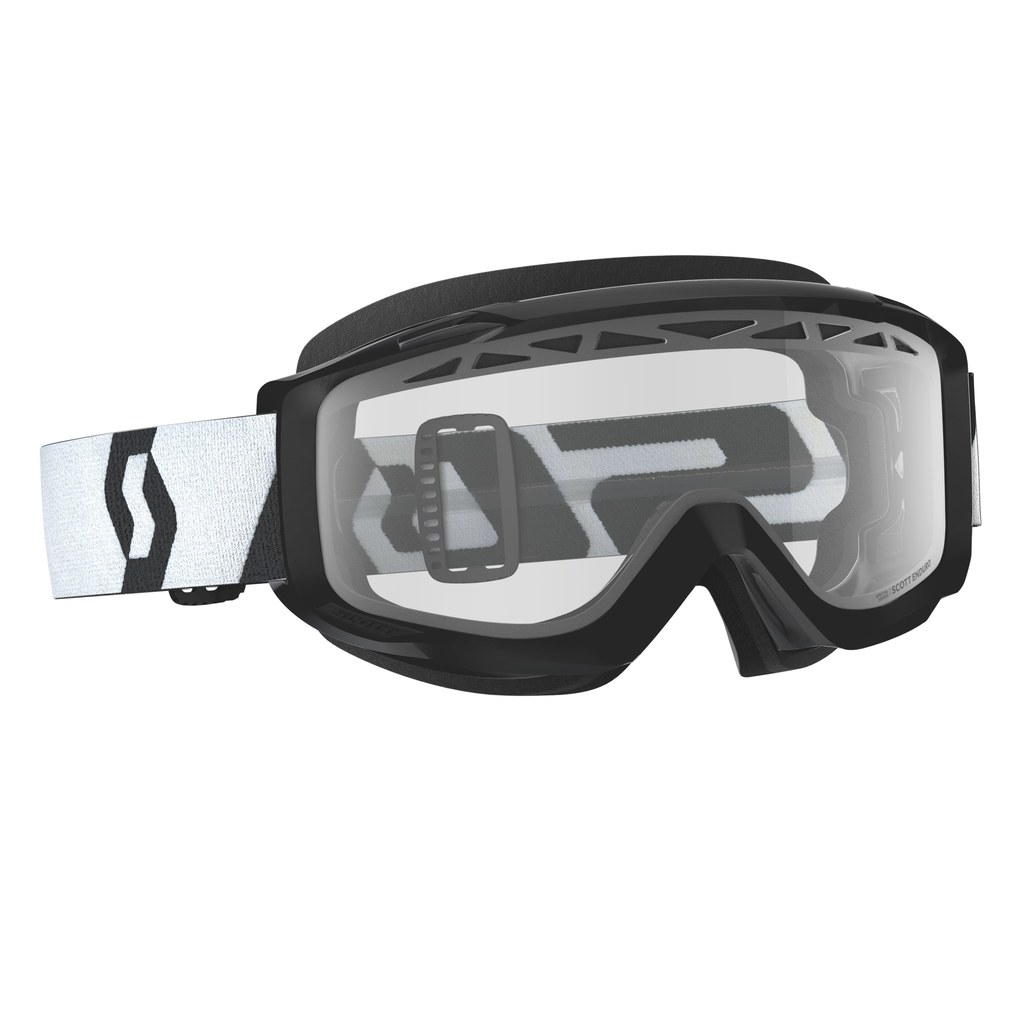 Goggle Split OTG enduro black clear lens
