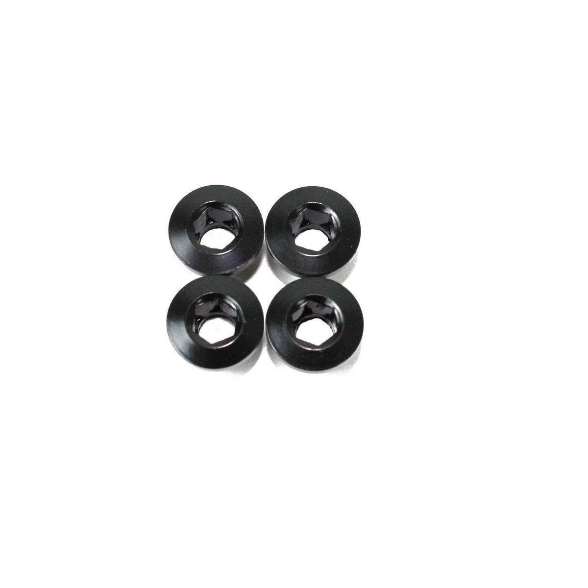 Kit 4pcs screws fixing chainring Pistard Air / Pistard 2.0 black