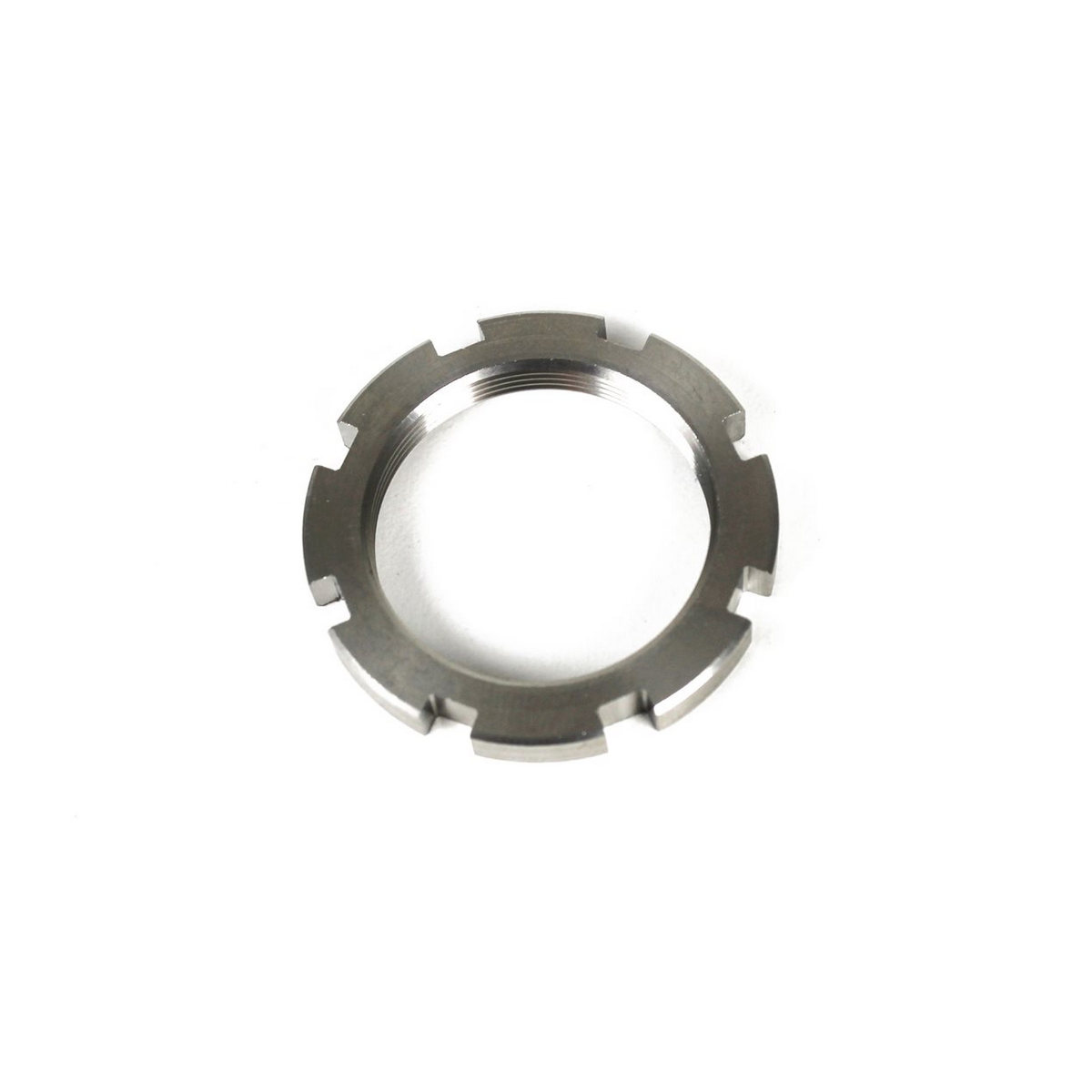 Lockring for spider chainring fixing