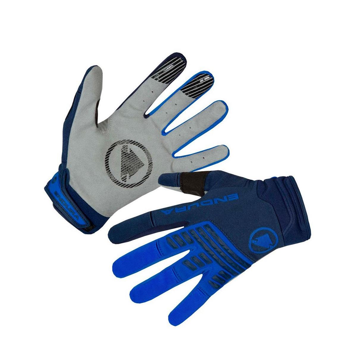 SingleTrack gloves blue size S