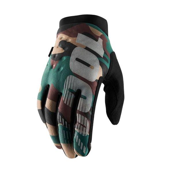 Winter gloves brisker camo / black size S