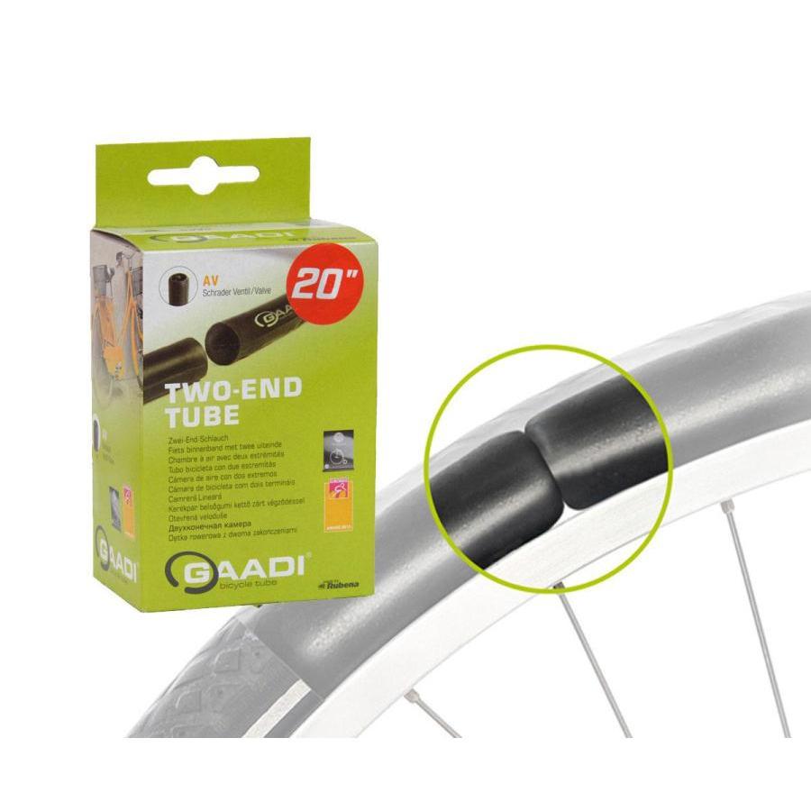 E-Bike Inner Tube 20x1.90-2.10 Two Ends Schrader Valve 40mm