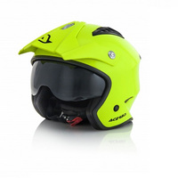 helmet jet aria neon yellow xs yellow