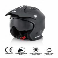 helmet jet aria matt black xs black