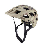 helmet trail rs evo limited edition camo camel size xs/s (49-54cm) brown