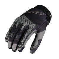 enduro gloves black/grey size s motor black