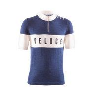 maglia vintage ciclismo eroica veloce taglia m blu blu