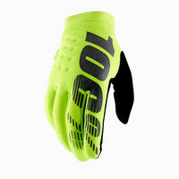 winter gloves brisker fluo yellow size s yellow