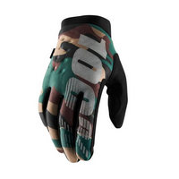 winter gloves brisker camo / black size s military green