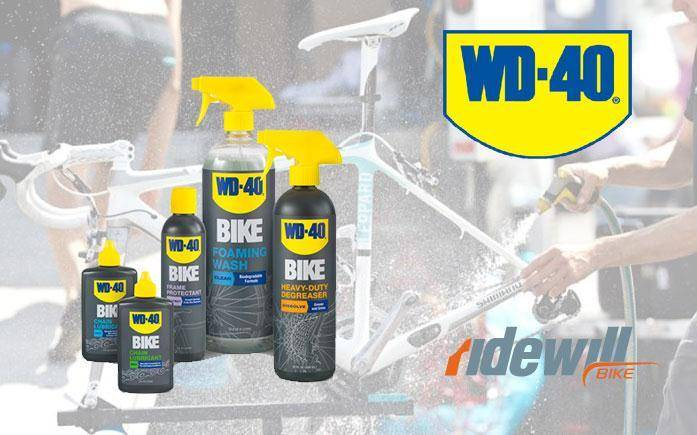 Bike care and maintenance WD-40 BIKE
