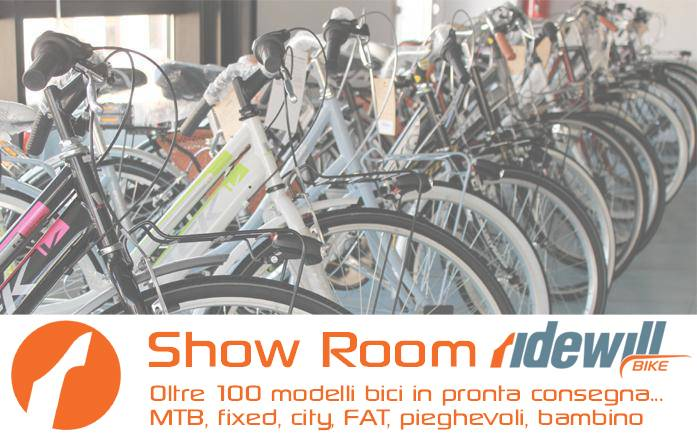 Show room biciclette Ridewill