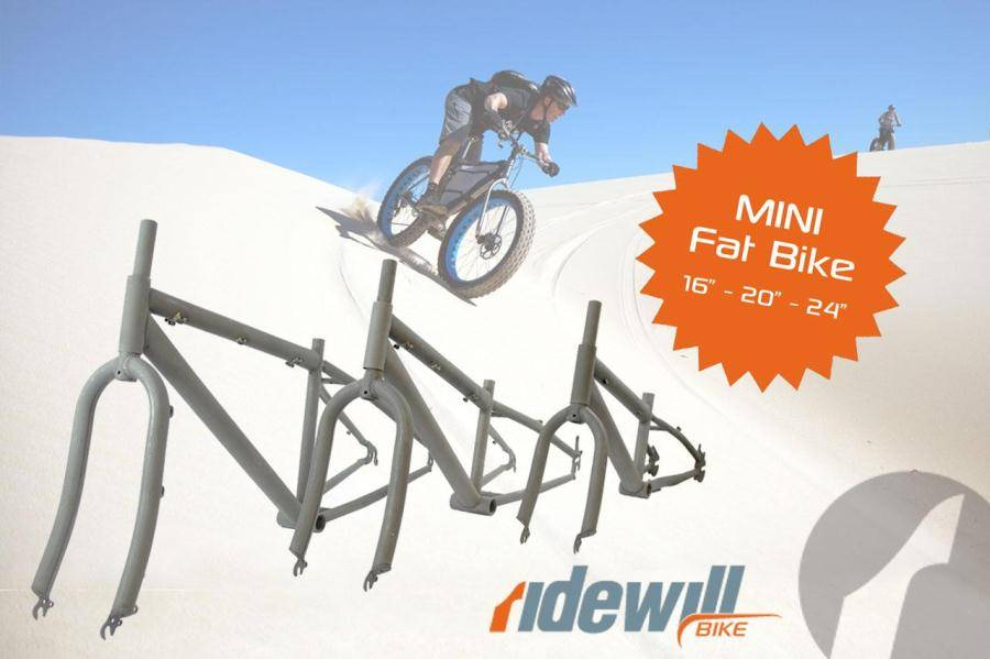 Frameset mini Fat Bike