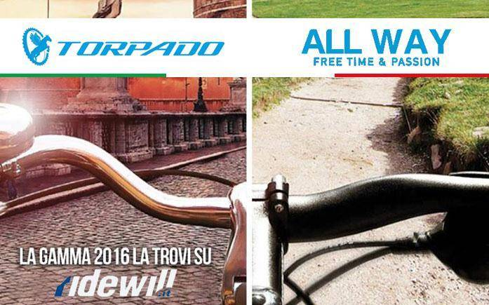 Torpado bike 2016 now available at Ridewill.it!