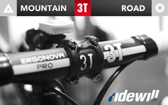 Bike components 3T for mountain and road