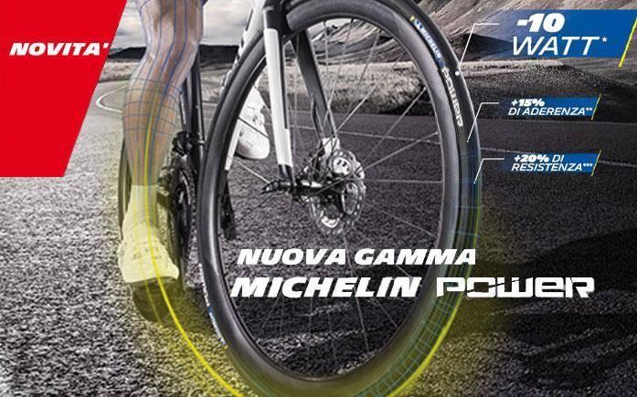 New road tire range Michelin POWER
