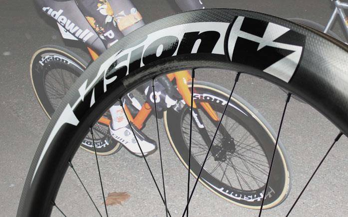 Vision Metron track wheelsets Team