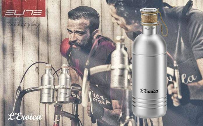 Waterbottle replica vintage Elite L'Eroica