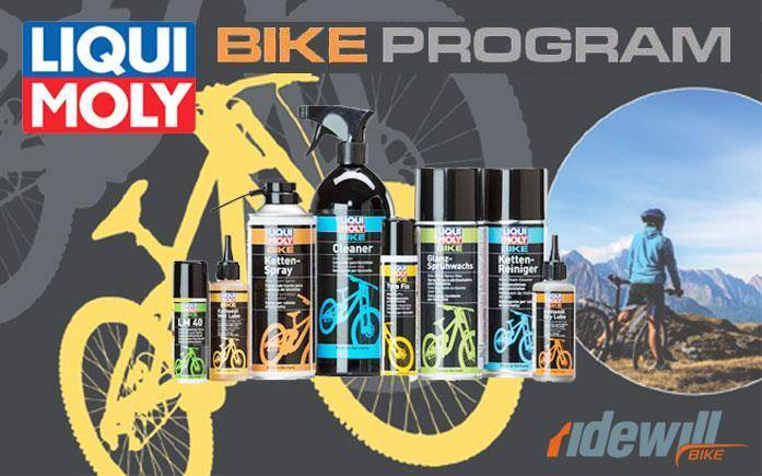 New product line by Liqui Moly for you bicycle!