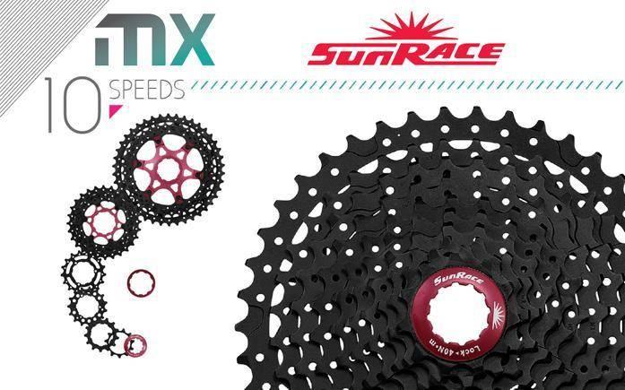 Cassette sprocket mtb Sunrace CSMX 10 speed