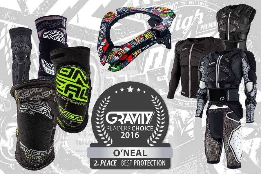 O'Neal helmets, gloves and protections
