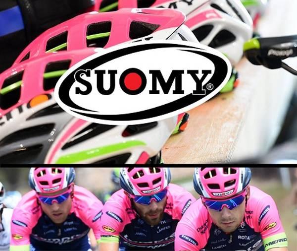 Caschi bicicletta Suomy collezione 2017