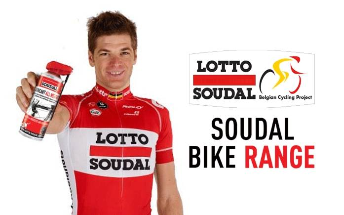 SOUDAL products for bicycle care and maintenance