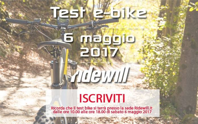 Test e-bike 06-05-2017