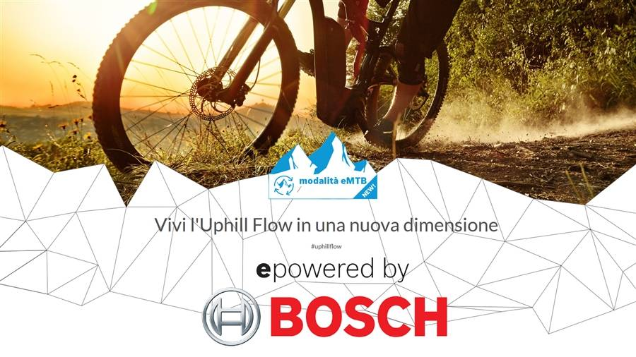 New Bosch eMTB mode - Progressive support and ultimate Uphill Flow