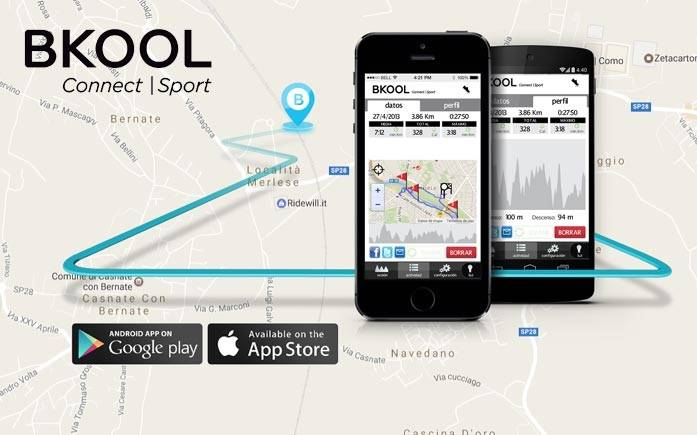 BKOOL Mobile - new app to control cycling simulator indoor training