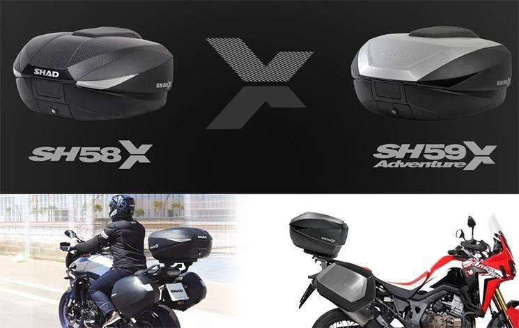 SHAD Expandable SH58X e SH59X
