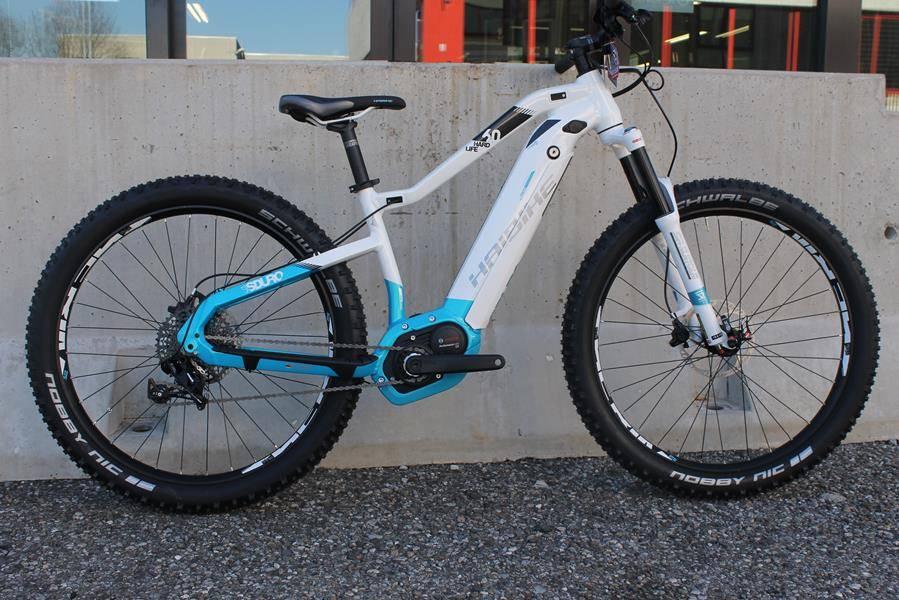Haibike Sduro HardLife the electric bike for her.