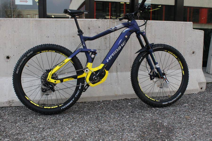 120 or 150mm? Choose the Haibike 2018 SDuro FullSeven that's right for you!