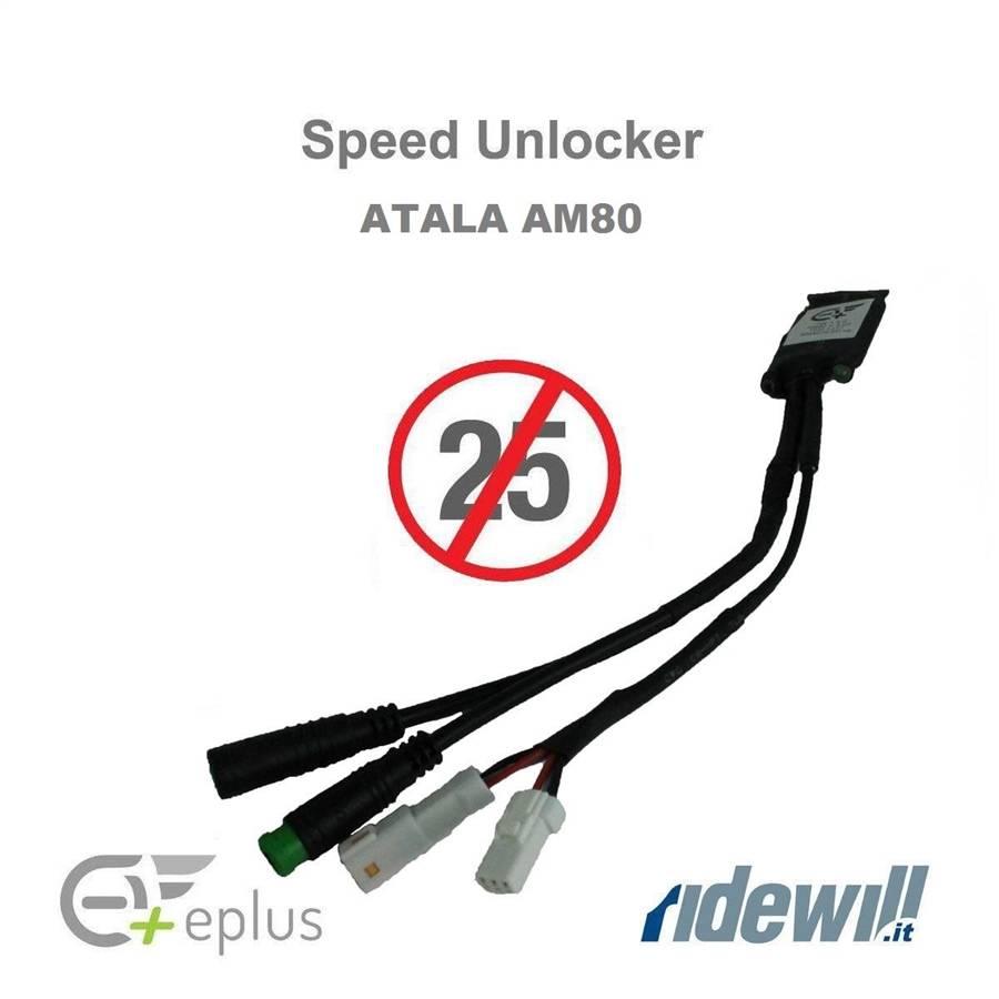 New kit Speed Unlocker for ebike Atala AM80