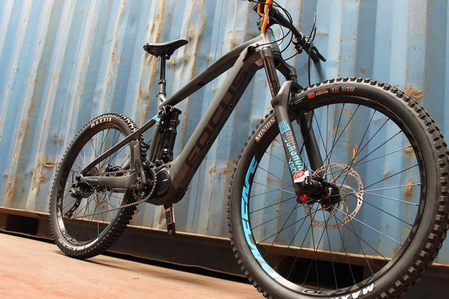 E-Bike FOCUS Sam2 LTD 170mm, focused on the enduro!