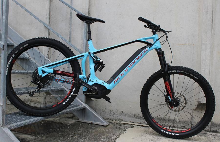 Ridewill.it Authorized e-bike dealer Mondraker in Como