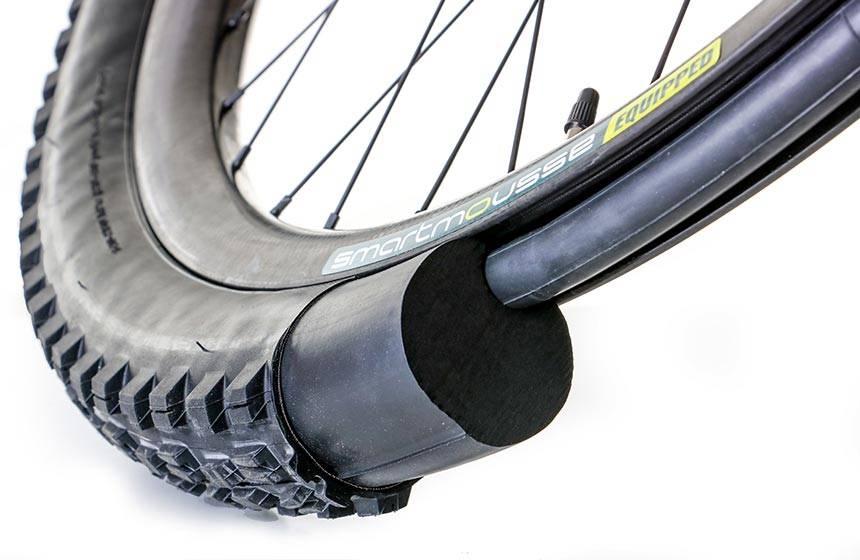 SmartMousse the first true anti-flattire solution dedicated to E-Bike