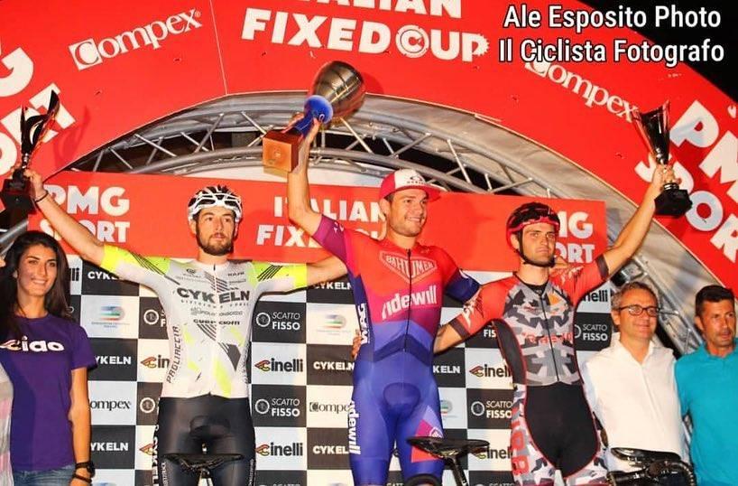 Longo campione italiano Fixed 2018