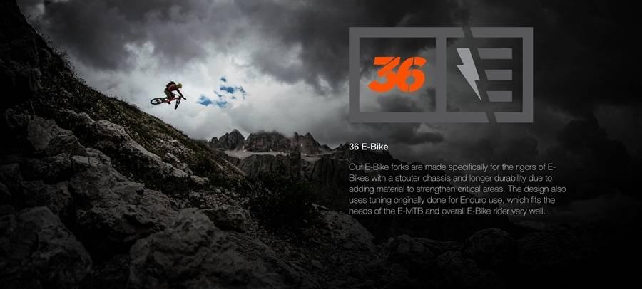 FOX 36 E-BIKE... Domina la montagna!