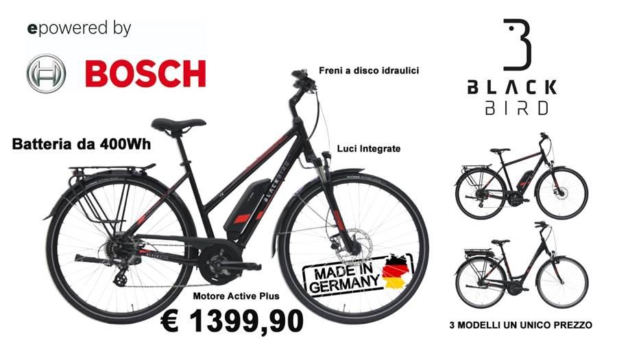 Your new e-bike with Bosch engine at an INCREDIBLE price: 1.147,50 euros FREE TAX