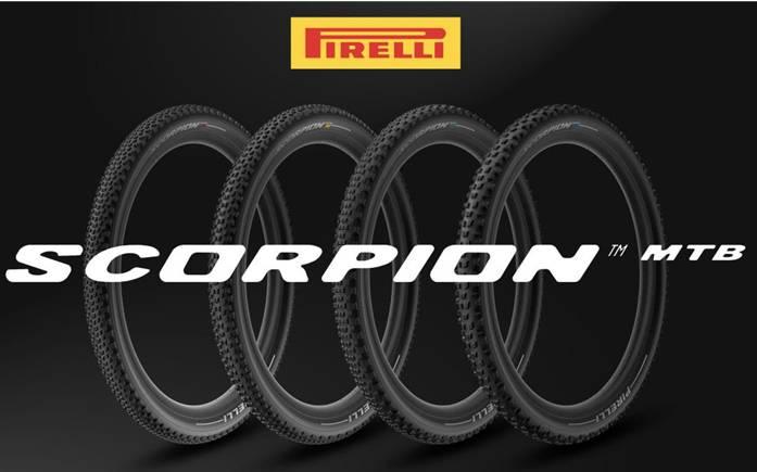 Pirelli presenta scorpion, la rivoluzionaria gamma MTB