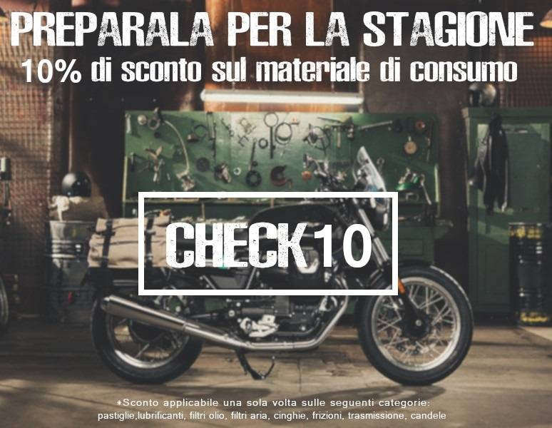 -10% OFF service parts for motorcycle