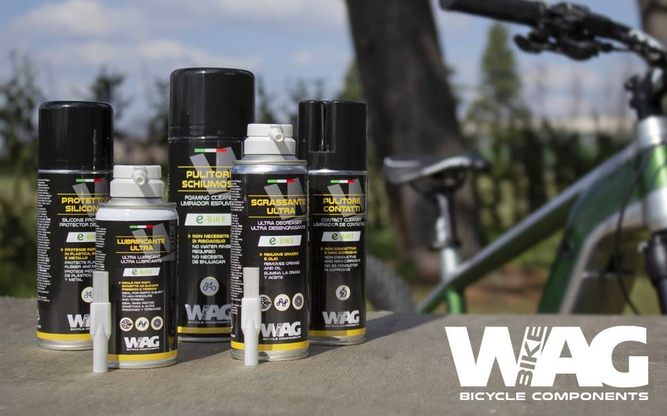 WAG launches the new line of chemists dedicated to e-bikes