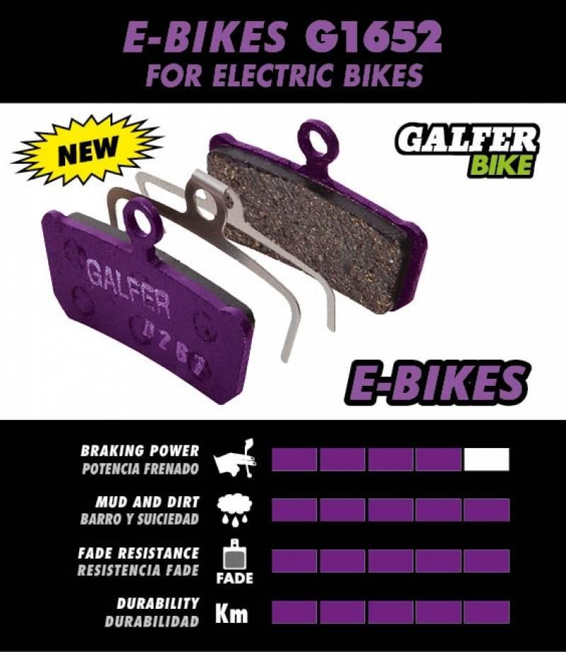 Galfer pastiglie freno per E-Bike