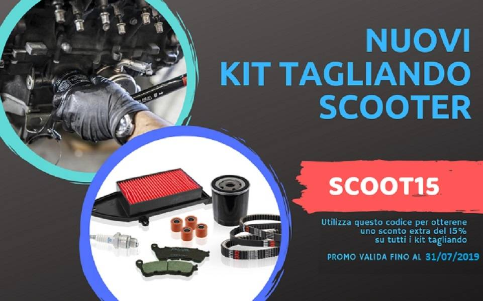 -15% OFF on scooter's service kit