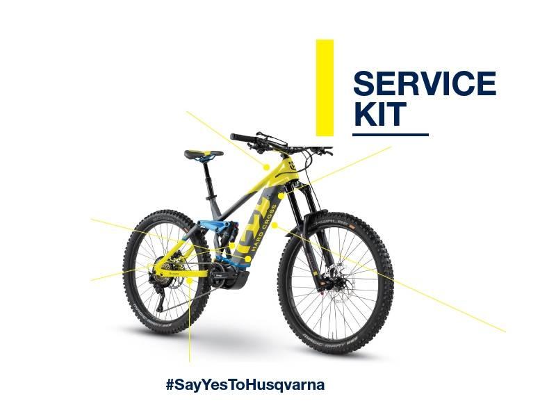 Husqvarna Bicycles recall campaign Service Kit