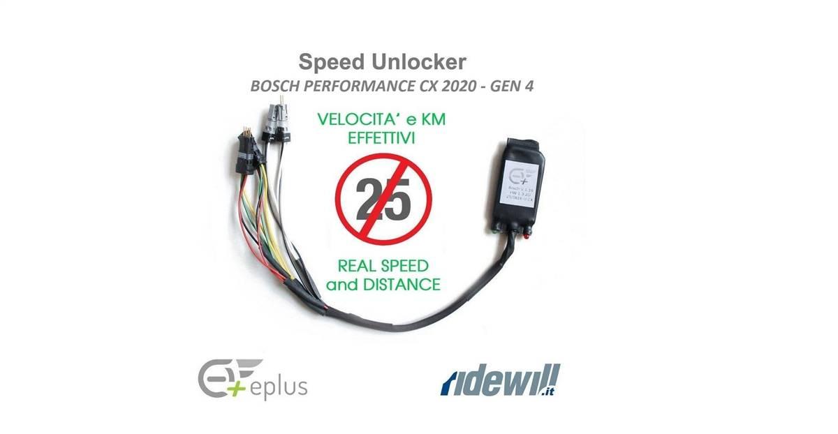 Anteprima esclusiva; arrivato il kit sblocco velocità per Bosch Performance CX 2020 - Gen 4