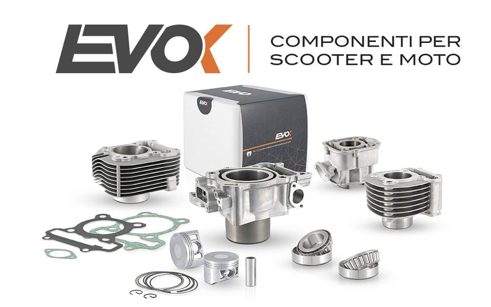 Ridewill presents EVOK high quality scooter cylinders