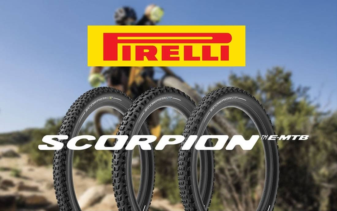 Pirelli Scorpion E-MTB, the new tires for E-bikes