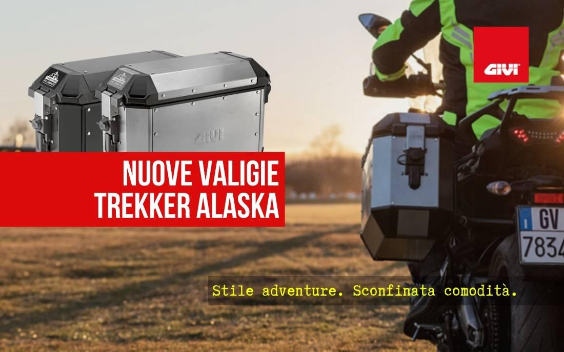 New Trekker Alaska side cases. Adventure, with comfort.